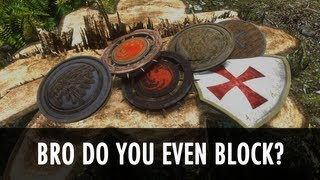 Skyrim Mod: Bro, Do You Even Block?