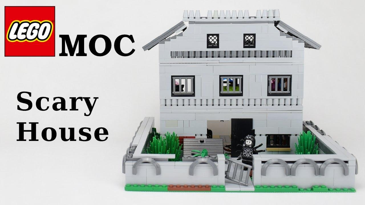 Lego MOC - Scary House - Dom strachów