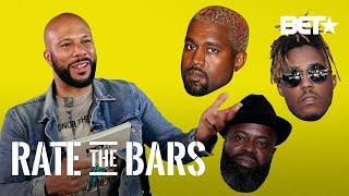 Common Tries To Analyze Bars From Kanye, Juice WRLD, & More! | Rate The Bars