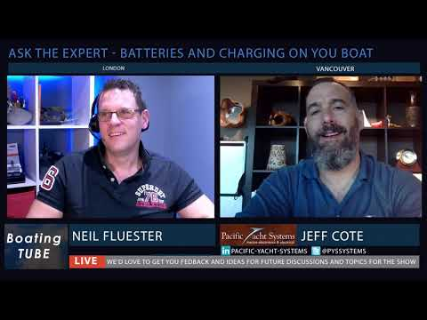 Join Neil Fluester From BoatingTube as He Chats With Jeff Cote About All Things Electrical