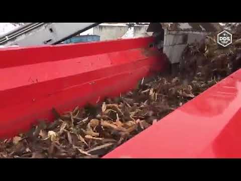 Ecostar Hextra Mobile Disk Screener Processing wood YouTube 360p