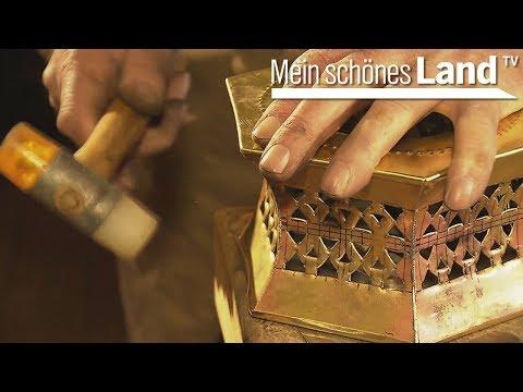 Stövchen aus Messing - traditionelle Handarbeit