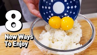 8 New Ways To Enjoy Egg Recipes Cooking Hack