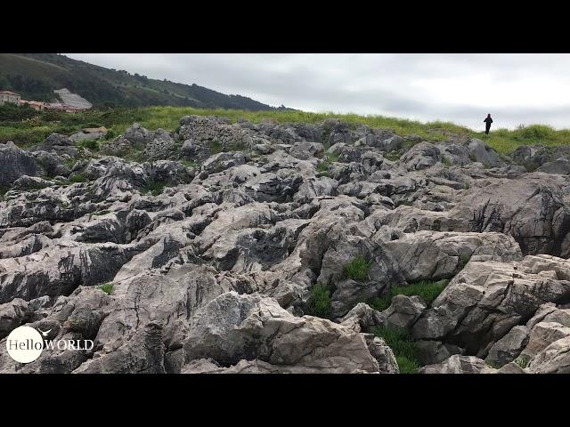 Felsenlandschaft am El Salto del Caballo