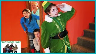 Buddy The Elf Hello Neighbor In Real Life / That YouTub3 Family I Family Channel