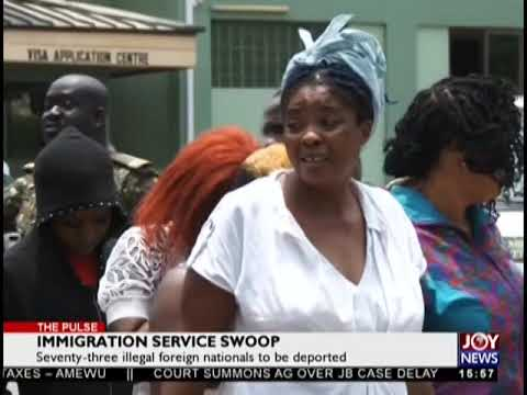 Immigration Service Swoop - The Pulse on JoyNews (20-9-18)