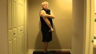 Два простых упражнения, чтобы кожа не висела на руках и ногах