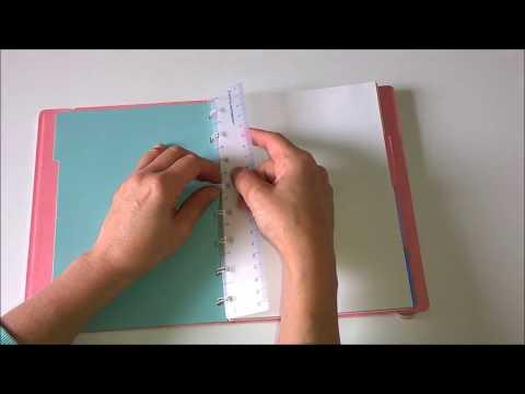 Filofax Notebook & Trick