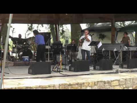 Dave Panico live at the Parkville Blues and Jazz Festival