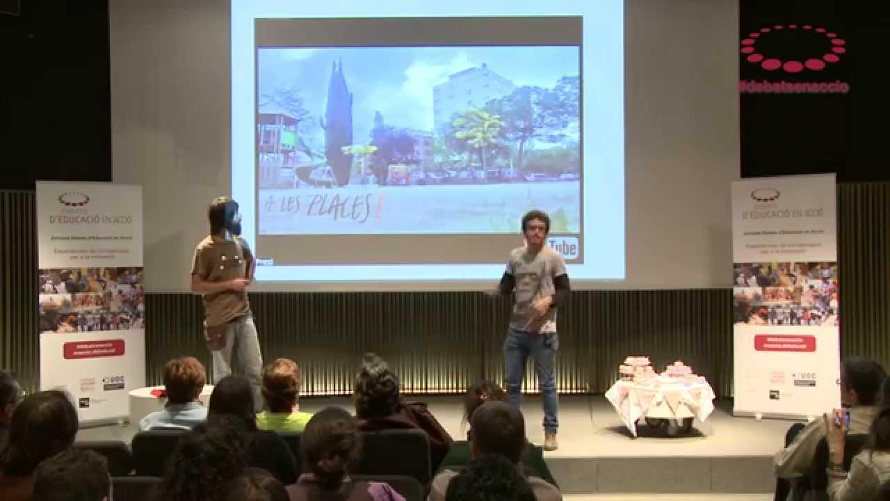 A les places! Disseny col·laboratiu d'accions a l'espai públic adreçades als infants