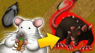 Огромная Крыса Монстр Съела ВСЕХ в Африке в Tasty Planet Forever Эволюция Крысы