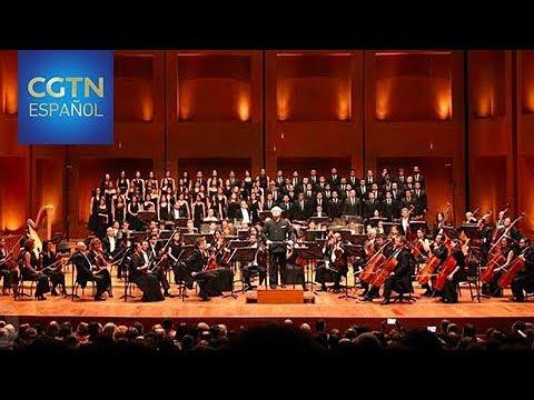 Filarmonica de Bogota enseña musica clasica a niños de escasos recursos