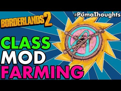 Borderlands 2: Ultimate Guide to Farming Blue, Legendary and Dragon Keep Class Mods #PumaThoughts