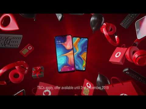 Vodafone Pay As You Go Black Friday Advert Uk 2020