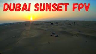 Windy Sunset | Dubai Sunset FPV Drone