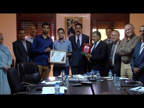 العرب اليوم - شاهد: تكريم طاقم وكالة المغرب العربي للأنباء