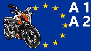 A1 and A2 Motorcycle License Explained! (Best Bikes for Each)