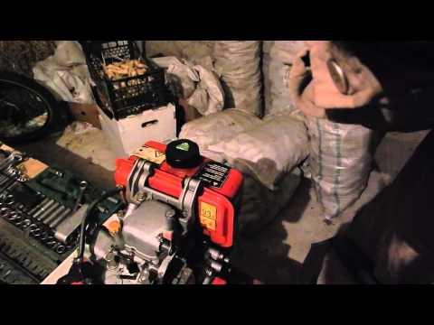 разборка мотора (1часть) WEIMA WM178FE (дизель 6 л.с.)