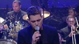 Michael Bublé - You're Nobody Till Somebody Loves You (David Letterman - março 2010)
