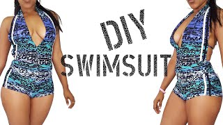 DIY How To Make A Swimsuit From Leggings