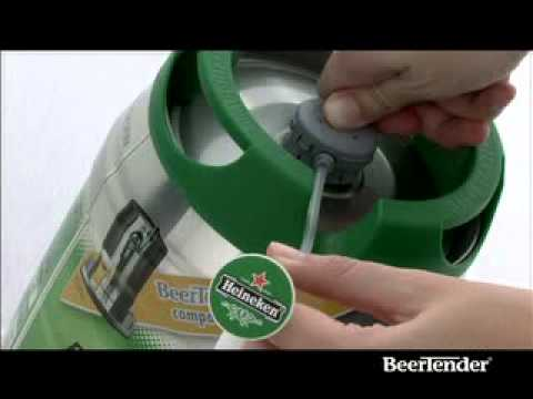 Dispensador de cerveza Beertender Krups