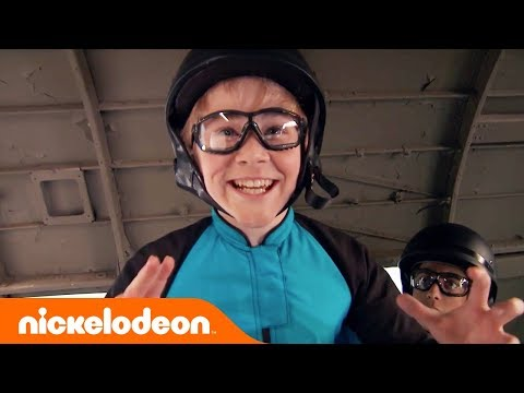 Nicky, Ricky Dicky & Dawn Emotional Finale 😭 Lizzy Greene & Squad Sky Dive | Nick