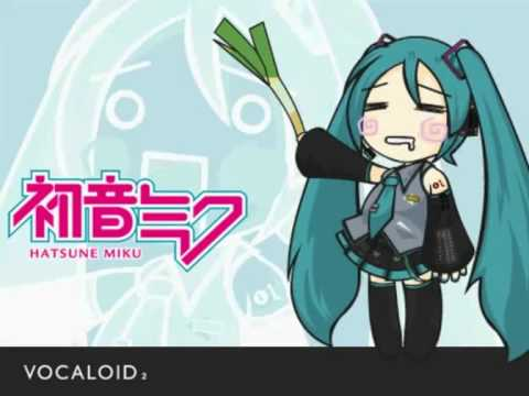 Miku Hatsune's Ievan Polkka With Lyrics
