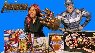 Avengers Infinity War Toy Challenge !  || Toy Review || Konas2002