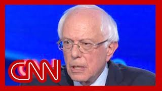 Bernie Sanders begins debate with a fight: You're wrong