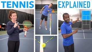The Rules of Tennis EXPLAINED (scoring, terms and more)