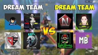 DREAM TEAM 4V4 CUSTOM GAME! (TEAM GABYEL VS TEAM LOPHI)