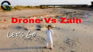 Village life Vlog Gujranwla   Race Drone vs Zain   Dji mini 2 flying speed