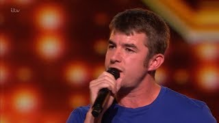 The X Factor UK 2018 Anthony Russell Auditions Full Clip S15E02