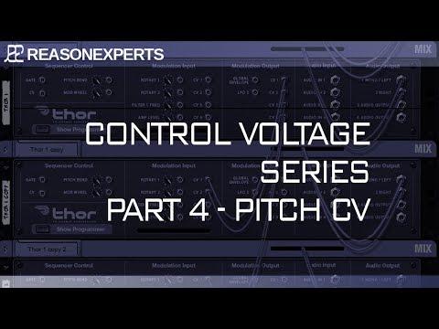 Reason 10.2 Control Voltage Part 4<br/>Altering Pitch