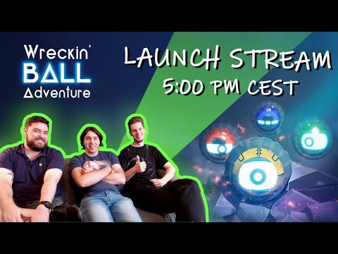 Wreckin' Ball Adveture - Live Stream with Devs! thumbnail