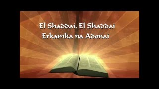 El Shaddai With Lyrics