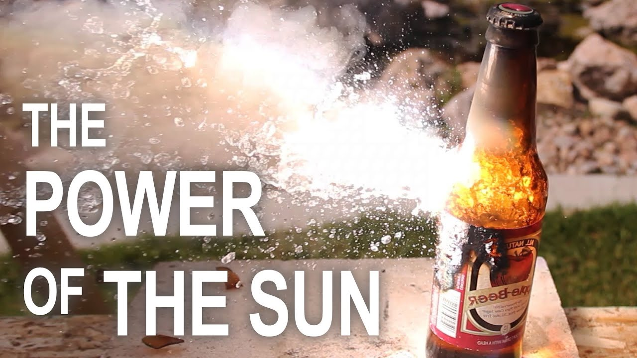 Burning Stuff With The Power Of The Sun Never Ever Gets Old