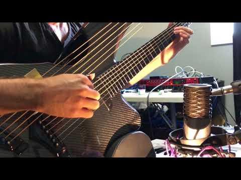 , title : 'Knockin' on Heaven's Door - Harp Guitar Cover - Jamie Dupuis'