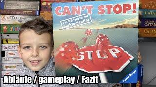 Can`t Stop (Ravensburger) - vor 20 Jahren Topspiel und heute eine Rarität! Abläufe inkl. gameplay