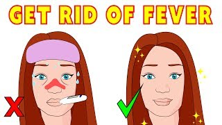 The 5 minute natural remedies to reduce a fever fast!
