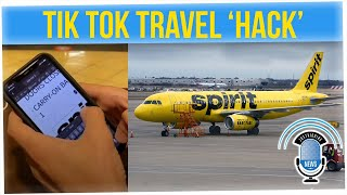 TikTok User Banned from Spirit Airlines After Posting 'Travel Hack' Video