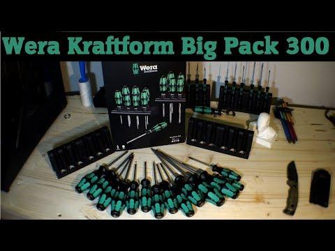 Unboxing - Wera Kraftform Big Pack 300 Schraubendreher