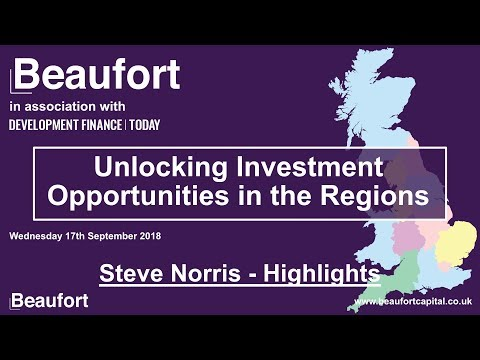 Unlocking Investment Opportunities in the Regions - Steve Norris keynote speech (highlights)