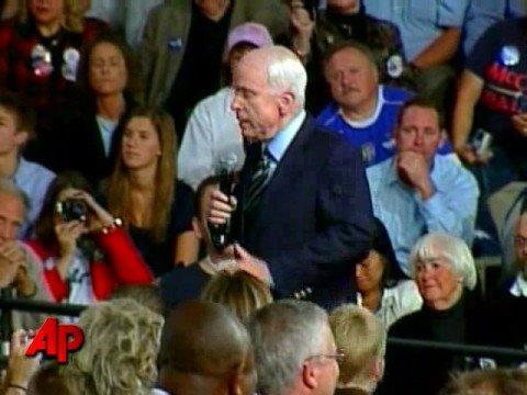 Cette «interview» marquante de la campagne américaine en 2008 où John McCain s'opposait à Barack Obama