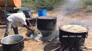 vegetable biryani making for 500 people | party recipe | biryani recipe