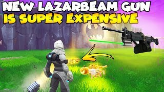 NEW LazarBeam Gun Is Expensive! 😈 (Scammer Gets Scammed) Fortnite Save The World