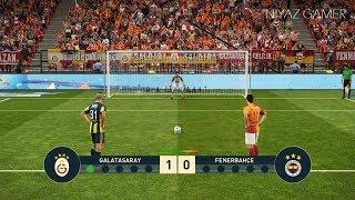GALATASARAY vs FENERBAHCE | Penalty Shootout | PES 2019 Gameplay PC