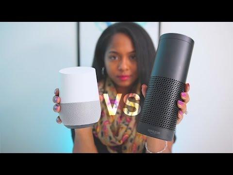 SHOWDOWN: Google Home VS Amazon Echo!