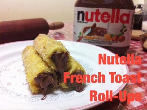 Video RECIPE #1: Nutella French Toast Roll-Ups | Resep Roti Goreng Nutella #GUILTYPLEASURE