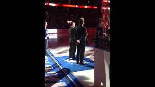 Chad Armstrong, Canadian National Anthem